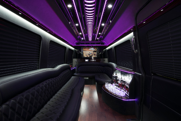 12 Passenger Party Buses Raleigh