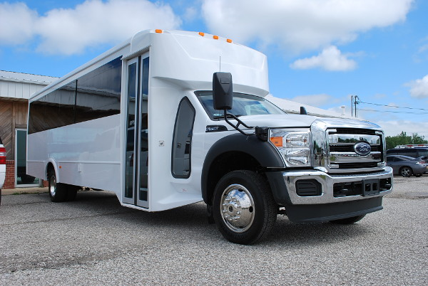 22 Passenger Party Bus Rental Raleigh North-Carolina