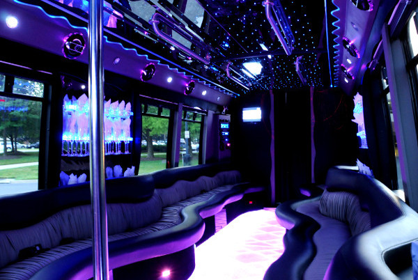 22 Seater Party Bus Raleigh NC