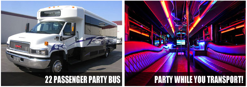 Airport Transportation Party Bus Rentals Raleigh