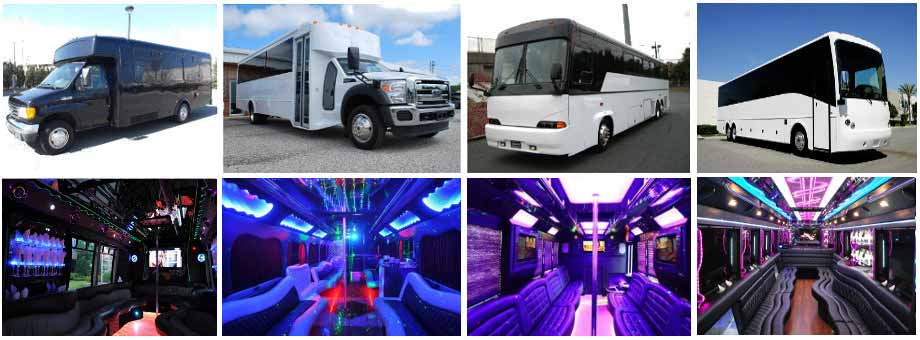 Prom Homecoming Party Buses Raleigh