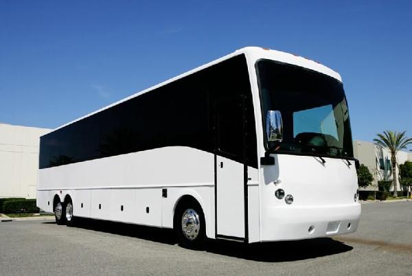 Raleigh 50 Passenger Charter Bus